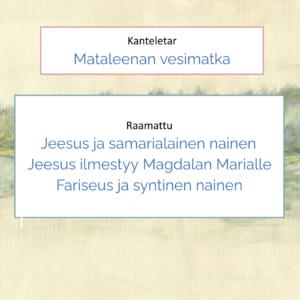 Kanteletar ja Raamattu
